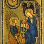 73 Благовещение Франция 1371-77 Кливлендский музей