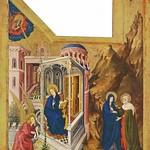 81а Мельхиор Брудерлам. Алтарь монастыря Шанмоль, кон. XIV в.
