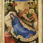 81 Мельхиор Брудерлам Рождество  Полиптих Филиппа Лысого 1400 Антверпен