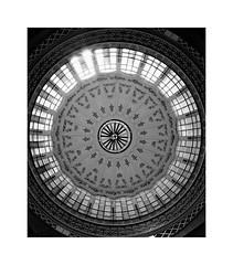 Valencia 26 (BLANCA GOMEZ) Tags: spain valencia bw blackwhite arquitectura architecture arquitectos francescguàrdiaivial alexandresoler enriqueviedmavidal artnouveau mercadocentral mercadocentraldevalencia market valenciamarket modernism modernismo skylight claraboya ceiling glass light shadows textures patterns silhouettes