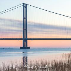 The bridge (Paul Roberts Photography) Tags: humber bridge estuary water river suspension morning first light