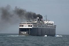 SS BADGER (RIVERBED IMAGES) Tags: steamboat steamship transportation ship boat lake michigan