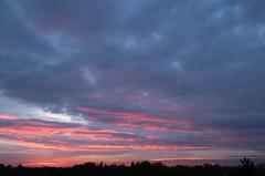 Sonnenuntergang 21.10.2019 (rieblinga) Tags: berlin lankwitz sonnenuntergang abendrot wolken 21102019