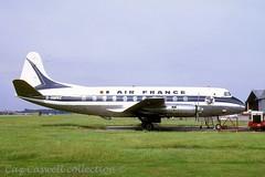 G-AMNZ  Viscount 707  Air France (caz.caswell) Tags: 4xrollsroycedarttuurbopropengines rr rrdart vickers viscount vickersviscount airliner turbopropairliner sdv acc pos yow lhr lgw gib lpl fco phl dus gamnz airfrance leasedbyairfrance