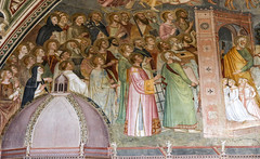 The Church Triumphant (Lawrence OP) Tags: florence santamarianovella dominican chapter spanish chapel fresco saints heaven newjerusalem stpeter beatific vision