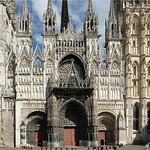 01 Западный фасад Руанского собора XIII-XV вв.