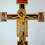 16 Джунта_Пизано. Распятие. 1236г. Ц.Санта-Мария дельи Анджели, Ассизи 2,15х1,35м