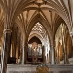 11 Уэльский собор Нервюрные своды