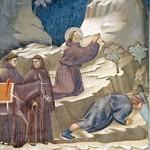 35c Джотто Чудесное открытие источника. Сан-Франческо,Ассизи 1296-1304