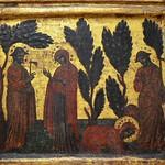 33а Венецианский мастер Триптих. Явление Христа Марии Магдалине в образе садовника