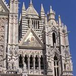 31а  Собор Успения Богородицы в Сиене Фрагмент фасада
