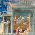 36f Джотто Рождество Богородицы Капелла Скровеньи