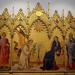 48 Симоне Мартини и Липпо Мемми Благовещение Уфицци 1333