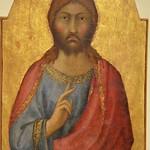 44 Симоне Мартини Икона Христа 1315-20 Пинакотека Ватикана