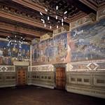 57 Амброджо Лоринцетти Фрески Зала девяти в Палаццо Публико, Сиена, 1338-40