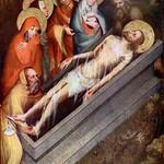 72а Мастер Тржебоньского алтаря Положение во гроб 1380-90