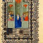 78c Часослов герцога Беррийского. Пятидесятница 1411-1416