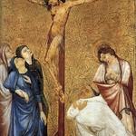 75 Жан де Бомец Распятие. Дижон, 1390-95