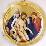 76 Жан Малуэль. Оплакивание Христа. Париж, Лувр 1400-10