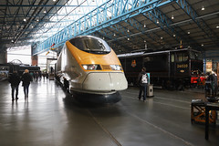 Eurostar 2019-10-20 (Michael Erhardsson) Tags: nationalrailwaymuseum york eurostar york20191020 eurotunnel high speed train