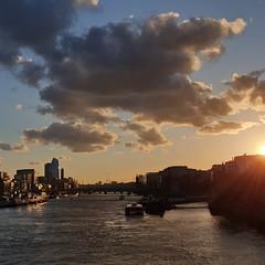 Tramonto a Londra (falco di luna) Tags: londra london instagram