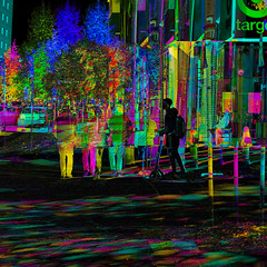 Scootering (Thiophene_Guy) Tags: thiopheneguy originalworks aleatoric composite colour colors colours rainbow color surreal thsfeset harrisshuttereffect rainbowcolors kinetic dynamic dynamism action motion movement subtractivefilter subtractivefilterhse subtractivedifferenceharrisshuttereffect negativespace muybridgeperspective movingsubjectreferenceframe fuji xs1 fujifilmxs1 scooter