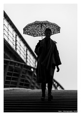 """A Day In Paris With Cedric 18"" (TBWLC Photography) Tags: fdrouet tbwlc cedricsurles street femme woman nikon d610 nb bw monochrome"