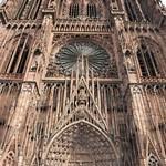 06a Западный фасад Страсбургского собора 1277-1380