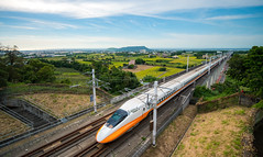 Taiwan High Speed Rail/Taichung (Changyou Lee) Tags: taiwan 台中 外埔 台灣高鐵 農田