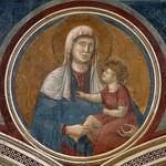 35a  Джотто (возм. Чимабуэ) Мадонна с улыбающимся младенцем