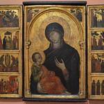 33 Венецианский мастер Триптих Богородица с клеймами ок. 1300-1310
