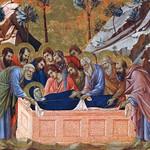 41d Успение Положение Марии во гроб Клейма лицевой стороны