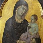 40а Дуччо Богородица, из полиптиха