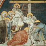 53 Пьетро Лоринцетти Снятие с креста Фреска в С-Франческо, Ассизи 1326-1330