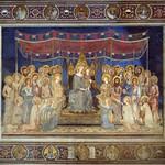 43 Симоне Мартини Маэста Палаццо Публико, Сиена 1315