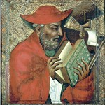 71а Мастер Теодорик. Святой Иероним. Замок Карлштейн Ок. 1370. Национальная галерея (Прага)