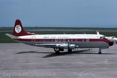 G-BCZR  Viscount 838  Dan-Air (caz.caswell) Tags: 4xrollsroycedarttuurbopropengines rr rrdart vickers viscount vickersviscount airliner turbopropairliner sdv acc pos yow lhr lgw gib lpl fco phl dus gbczr danair