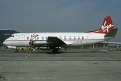 G-AOYP  Viscount 806  Virgin (caz.caswell) Tags: 4xrollsroycedarttuurbopropengines rr rrdart vickers viscount vickersviscount airliner turbopropairliner sdv acc pos yow lhr lgw gib lpl fco phl dus gaoyp virgin