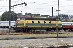 2019-08-28 Infrabel 6222 Denderleeuw 1 (John Carter 1962) Tags: trains rail railways belgium belgianrailways