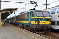 2019-08-28 SNCB 2157 (1731 ex Brussels Central) Kortrijk (Courtrai) (John Carter 1962) Tags: trains rail railways belgium belgianrailways