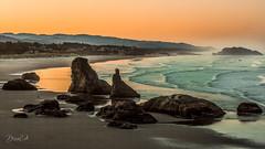The Morning Light (Selectivebits) Tags: beach water wave sand oregon rock naturebynikon bestcapturesaoi elitegalleryaoi ag nikon flickr greatphotographers vernissage 200