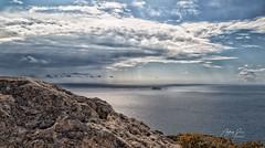 Filfla, Malta, 2019 (Ant Sacco) Tags: filfla malta island sea clouds