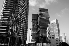 Black and White (MarcinCzerniawski) Tags: architecture architekture paix peace frieden telaviv