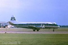 EI-AOH  Viscount 803  Aer Lingus (caz.caswell) Tags: 4xrollsroycedarttuurbopropengines rr rrdart vickers viscount vickersviscount airliner turbopropairliner sdv acc pos yow lhr lgw gib lpl fco phl dus eiaoh aerlingus