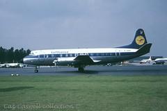 D-ANIP  Viscount 814  Lufthansa (caz.caswell) Tags: 4xrollsroycedarttuurbopropengines rr rrdart vickers viscount vickersviscount airliner turbopropairliner sdv acc pos yow lhr lgw gib lpl fco phl dus danip lufthansa