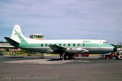9Y-TBT  Viscount 772  BWIA (caz.caswell) Tags: 4xrollsroycedarttuurbopropengines rr rrdart vickers viscount vickersviscount airliner turbopropairliner sdv acc pos yow lhr lgw gib lpl fco phl dus 9ytbt bwia portofspain trinidad