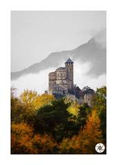 Basilique de Valère en automne (ANTOINE ARROBAS) Tags: basiliquedevalère automne valais sion wallis château romandie