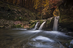 Schiessentumpel (Tony N.) Tags: luxembourg schiessentumpel mullerthal cascades rivière river automne autumn tonyn tonynunkovics manfrotto rain pluie nisi nisiprov5 nisicplpro nikkor1635f4 nikon