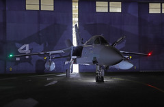 RAF Cosford (Andrew Edkins) Tags: ze340 panavia tornado fighter bomber flying hangar raf cosford shropshire england october 2019 thresholdaero light door canon airbase aircraft aviaiton doors