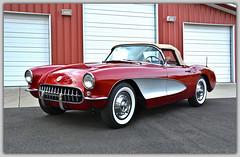 1957 Corvette.  Fairfield, CA (bobchesarek) Tags: chevrolet corvette 1957corvette chevycorvette